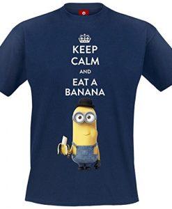 Minions-Keep-Calm-And-Eat-A-Banana-T-Shirt-navy-0-1