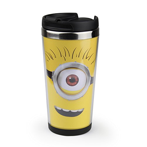 minions thermobecher goggle face 02 coffee to go becher. Black Bedroom Furniture Sets. Home Design Ideas