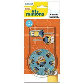 Minions-2015-35teiliges-Muffin-Deko-Set-0