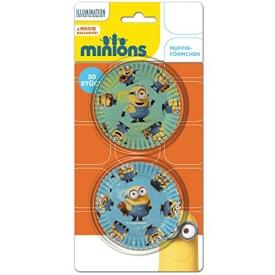 Minions Muffin Fun 30 bunte Motiv Muffinförmchen
