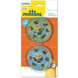Minions-Muffin-Fun-30-bunte-Motiv-Muffinfrmchen-0