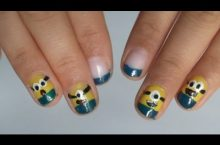 Minion Fingernägel selbst kreieren